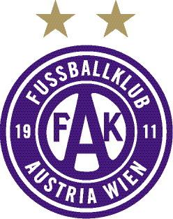 FK Austria Wien Logo GoldSterne RGB